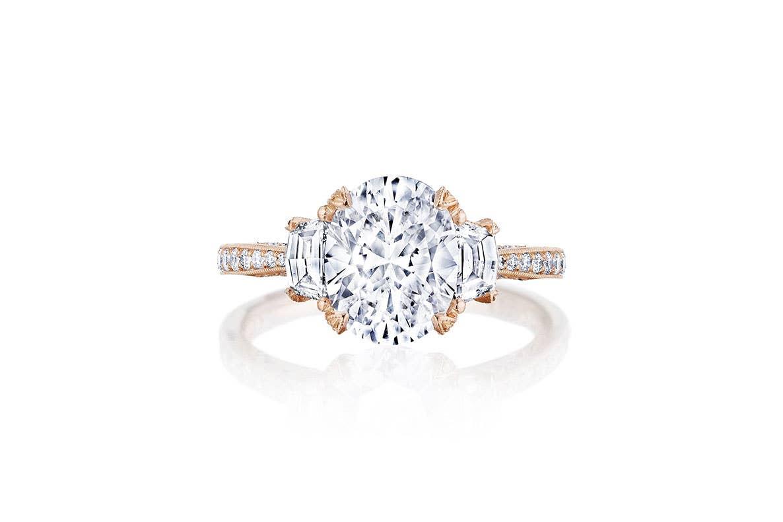Rose Gold RoyalT ring from Tacori