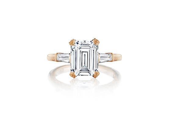 RoyalT engagement ring on white background