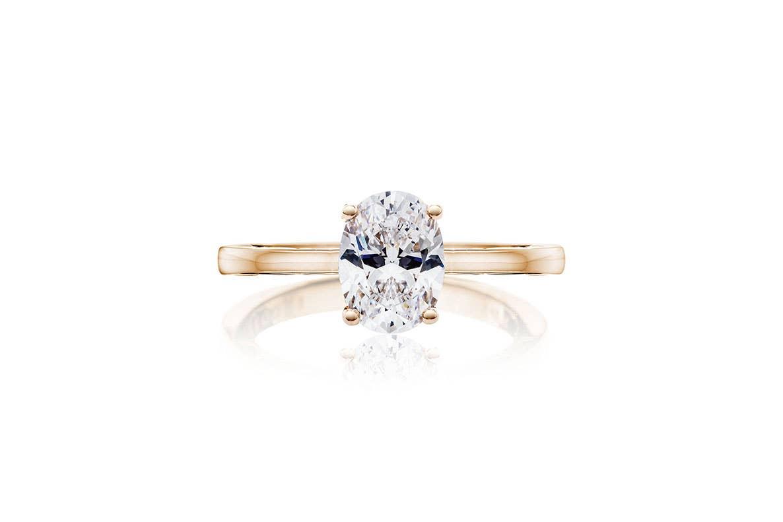 Coastal Crescent engagement ring from Tacori