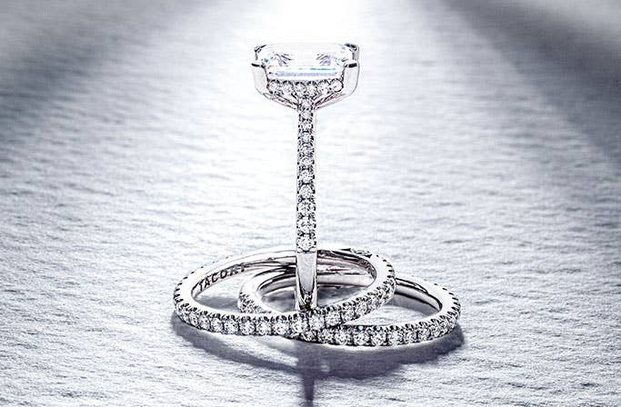 Truly T Engagement Rings